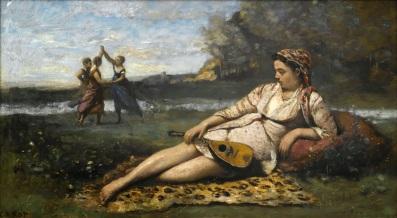 Corot, Jeunes filles de Sparte, 1868-1870 4